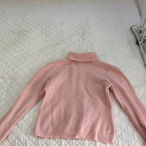 Light pink turtle neck sweater